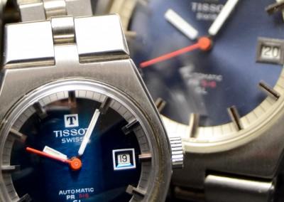 Two Tissot PR516
